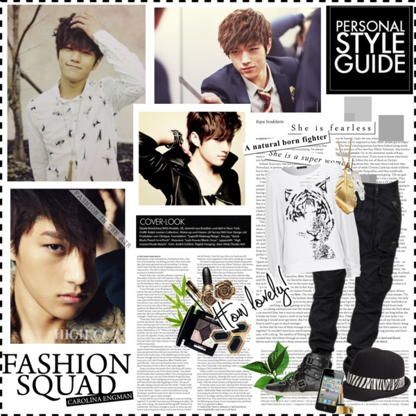 """L (Kim Myungsoo) of infinite"" by annie-1216 on Polyvore"