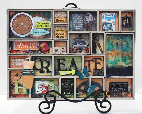 .: Trays Shadow Boxes, Galleries, Altered Projects, Altered Trays, Future Projects, Printer Trays, Altered Art, Printers Trays Shadow, Craft Ideas