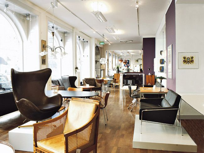 No-one with an interest in 20th century design should miss out on exploring Bredgade, the best street in the Copenhagen for art and antiques.