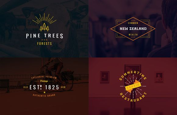 Check out Vintage Logo Templates - vol 4 by Brazvan on Creative Market