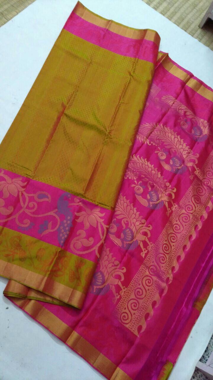 cbc0f62fb5 Pure Kanchipuram silk sarees Handwoven(light weight) With trendy work  7999+shipping Order what's app 7093235052