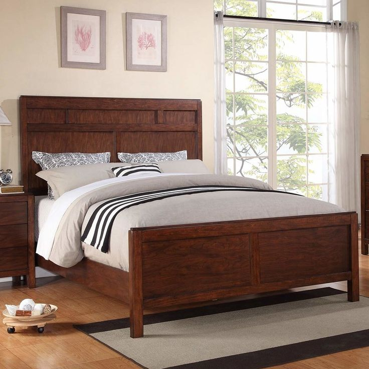 Winners Only Hampshire Panel Bed Simple