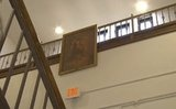 04/03/13 Some legal persuasion by the American Civil Liberties Union has prompted a southern Ohio school district to take down a Jesus portrait that has been up since 1947. The decision to remove the portrait from Jackson Middle School was made after the district's insurance company refused to cover litigation fees. The Hi-Y Club, a Christian-based club that the school says owns the portrait, took it down, The Blaze reported.