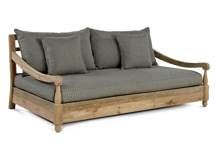 Loungedreams Outflexx Sofa Natur Recycled Teak