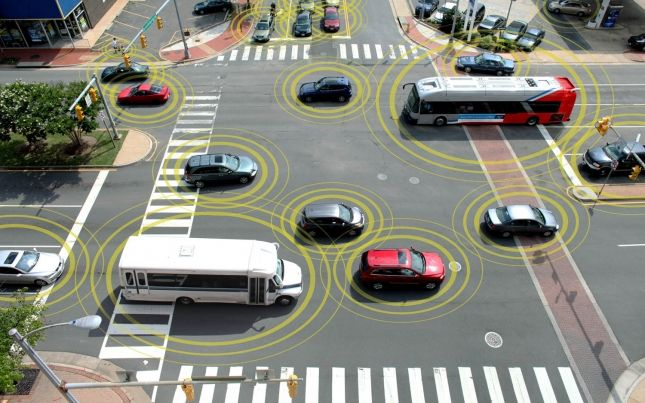 Cars that communicate with each other – and the road – are now being tested in Michigan