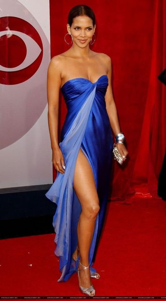 Halle Berry Hot Dress