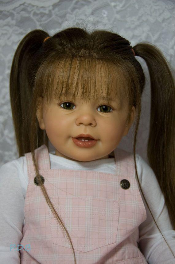 CUSTOM ORDER Reborn Toddler Doll Baby Girl by PumpkinDoodleBabies