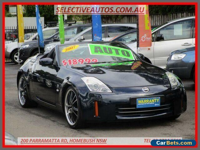 2007 Nissan 350Z Z33 MY07 Roadster Touring Blue Automatic 5sp A Convertible #nissan #350z #forsale #australia