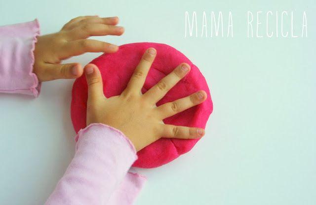Mamà recicla: La millor recepta de plastilina / La mejor receta de plastilina / A melhor receita de plasticina