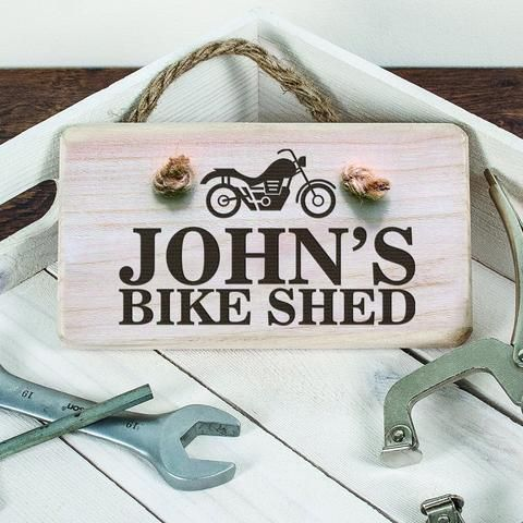 Looking for some Christmas Gift inspiration, take a look out some of our personalised signs. Perfect for the Man Cave or his Shed!