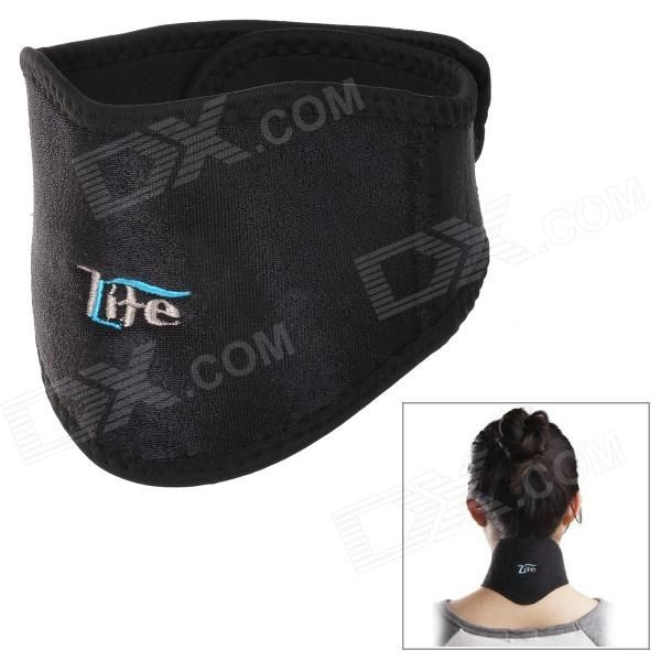Brand: LIFE; Model: L029; Color: Black + white; Material: Germanium SPAR + high elastic fiber cloth; Quantity: 1; Functions: Health care; Packing List: 1 x Neck protector; http://j.mp/1uO90t8