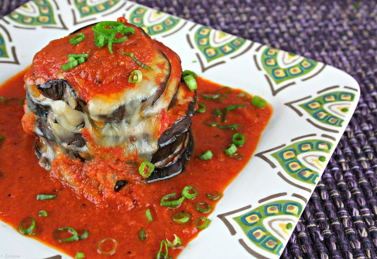 Stacked Cheesy Eggplant Enchiladas with Cacique Four Quesos Blend Shredded Cheese