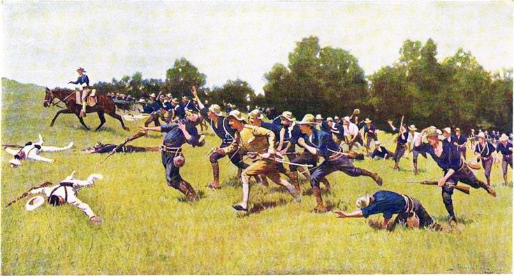The Rough Riders – Seven Things You Didn't Know About Theodore Roosevelt's Famous Volunteers – MilitaryHistoryNow.com