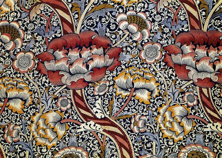 Best DesignerWilliam Morris Images On Pinterest Textile - Arts and crafts fabric patterns