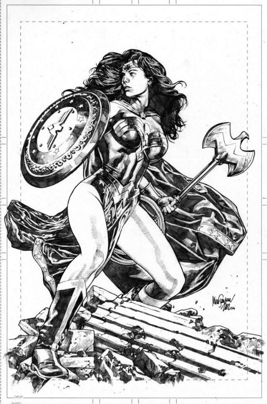 Wonder Woman by Mico Suayan