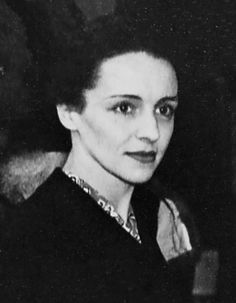 Ève Curie (1904-2007) was the daughter of Marie and Pierre Curie, and the sister of physicist Irène Joliot-Curie. As a journalist, she was the only member of the famous family who did not pursue a career in science, and also the only one who did not win a Nobel Prize; her work, however, was just as important and fulfilling.