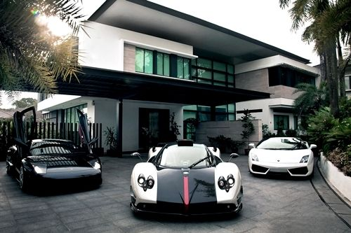 Luxury House And Car i might need those carsbut something on the same lines income