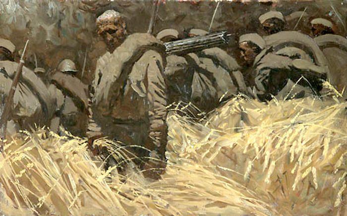 """D. Shmarin """"Summer 1941"""""""