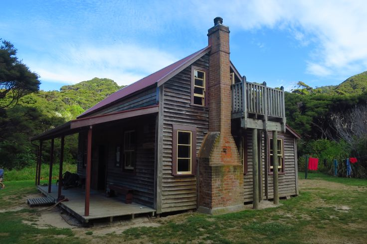 The haunted Whariwharangi hut