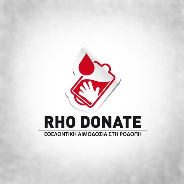 Logo for a Volunntary Blood Donation Program