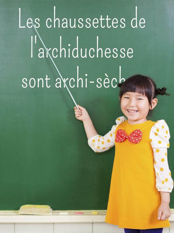 Voici quelques exercices de diction pour s'exercer à la prononciation.