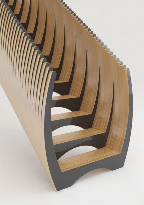 Stairs by Cornelis van Vlastuin and Geoffrey Packer of Dutch stair makers EeStairs