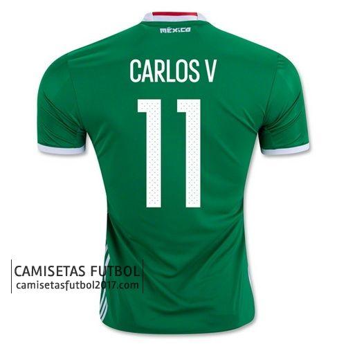 Primera camiseta CARLOS V de Mexico Copa América 2016 21,9€
