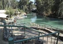 the River Jordan, Israel