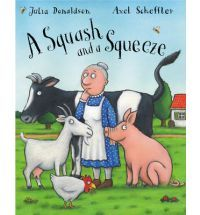 """""""a bit of a classic... A goat on the bed and a cow on the table tapping out a jig? My readers collapsed in heaps, and then had to have it read again. And again."""" Vivian French in the Guardian"""