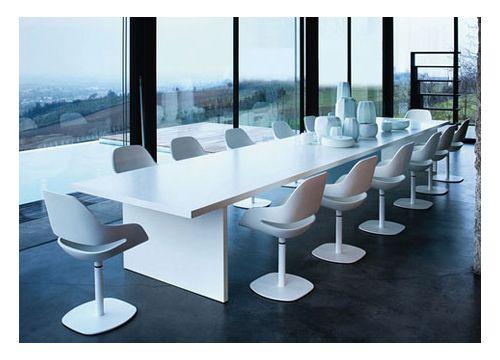 Mesa de juntas moderna y econ mica office pinterest for Mesas para oficinas modernas