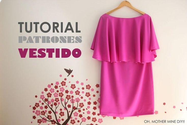En plena época BBC (bodas, bautizos y comuniones) vamos a aprender a coser un vestido de capa. ¡Nos encanta!