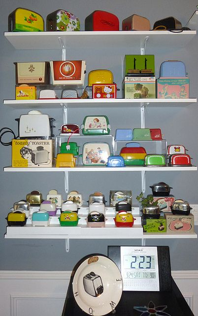 Collections: real and toy toasters, one my favourite collections on this board.