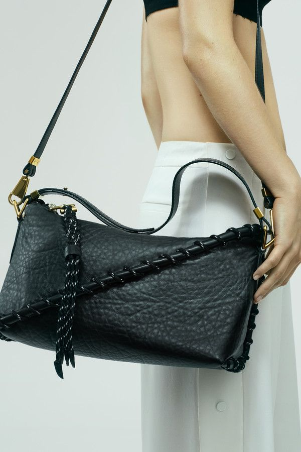 Acne Studios Rope Messenger Black Shoulder bag.  bag, сумки модные брендовые, bags lovers, http://bags-lovers.livejournal