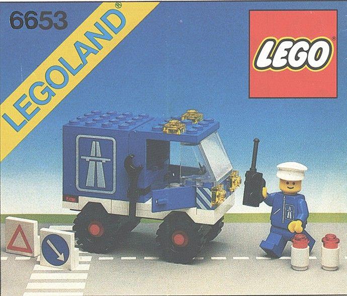 LEGO 6653-1: Highway Maintenance Truck | Brickset: LEGO set guide and database