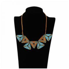 Collar Triángulos Contracara