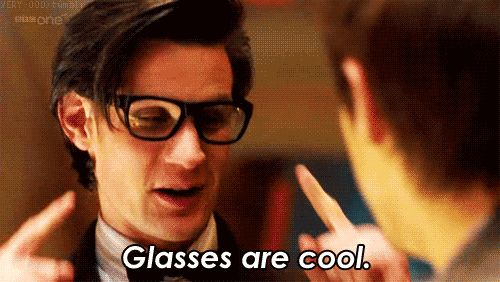 "Glasses. | 11 Things That Matt Smith Made Cool On ""Doctor Who"" 