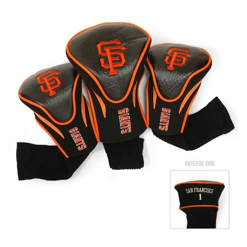 Team Golf San Francisco Giants Contour Sock Head Covers 3-Pack - Golf Equipment, Collegiate Golf Products at Academy Sports