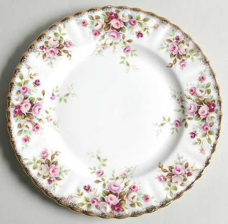 Royal Albert Cottage Garden Salad Plate Royal Albert