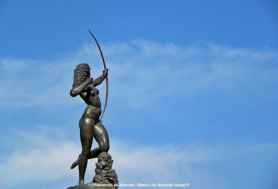 La Diana cazadora. Diana the Huntress.