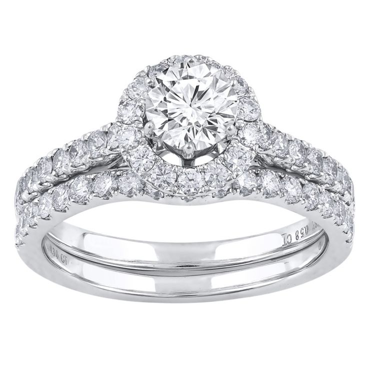 Love by Michelle Beville 18ct White Gold 90pts of Diamond Solitaire Ring. Available in stores or online - 9B31010