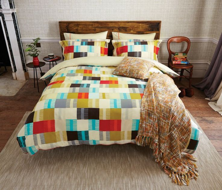 Contemporary Bed Linen | Navajo Oxford Pillowcase at Bedeck Home