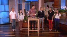 Watch The Ellen Show: Justin Flom's Magic Popcorn online | Free | Hulu