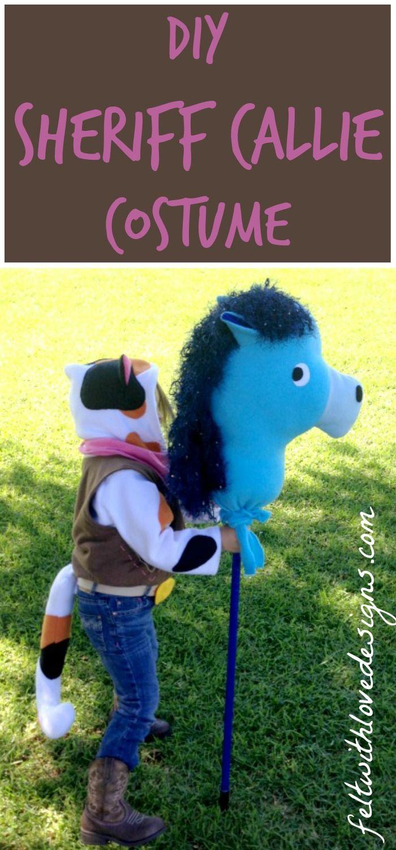 DIY Sheriff Callie Halloween Costume - Felt With Love Designs