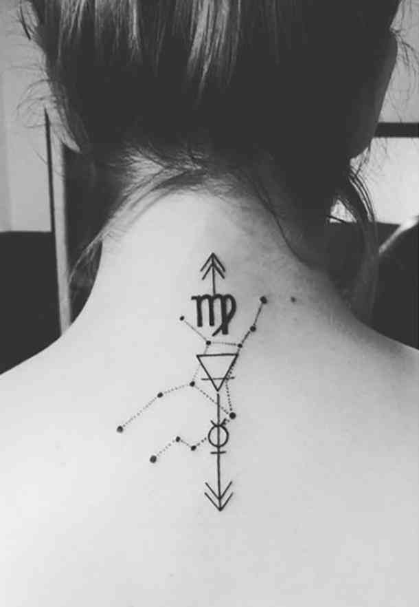 79a0bbd0f5722 25 Best Constellation Tattoo Ideas For Virgo Zodiac Signs   Tattoos ...