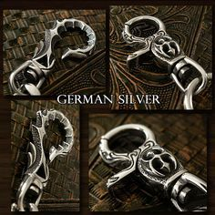 Rakuten: Wallet chain WILD HEARTS Biker German Silver Gothic Jeans wallet- Shopping Japanese products from Japan