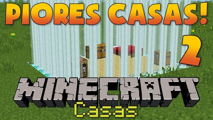 MAIS 5 PIORES CASAS do Minecraft!