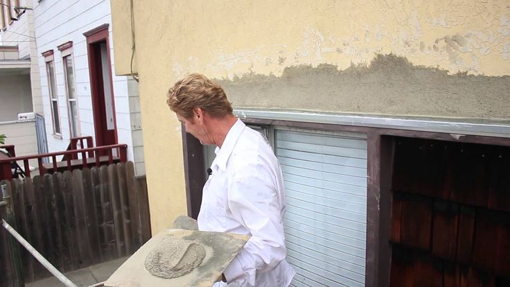 One Million views!  The best stucco patching methods using same day stucco.