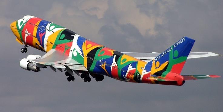 South African Airways 747-312