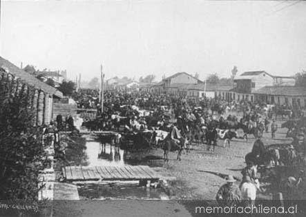 Bandidos en Chillan 1906