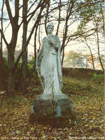 Recent Photograph of Statue of Fair Flora (Stoke)